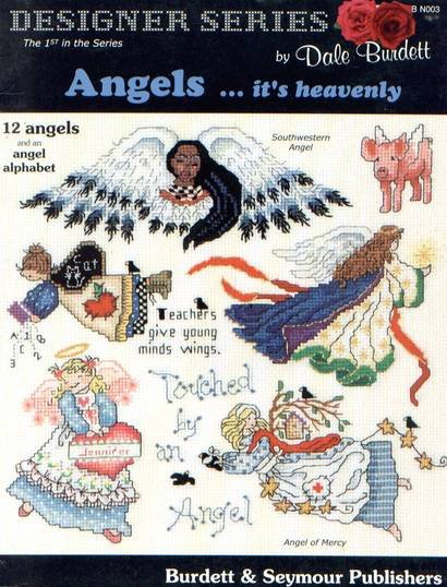 Angels-It's Heavenly New Cross Stitch Pattern Patterns