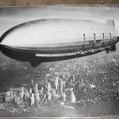 1933 U.S.S. USS MACON DIRIGIBLE LIGHTER THAN AIR POSTER