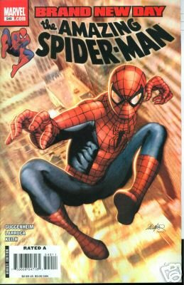 AMAZING SPIDERMAN #549 m/nm BRAND NEW DAY SPIDER-MAN