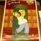 SIMPSONS HOMER CLOSE BUT NO DONUT POSTER 22x34 D'OH