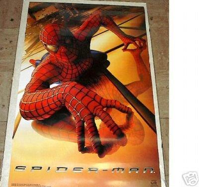 2002 SPIDERMAN MOVIE POSTER 23x34 SPIDER-MAN