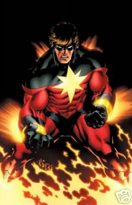CAPTAIN MARVEL ED McGUINESS POSTER 24x36