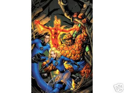 FANTASTIC FOUR 527 COVER POSTER MIKE McKONE 24x36