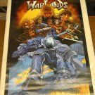 VINTAGE 1999 WARLANDS POSTER ALVIN LEE 22x34 DREAMWAVE
