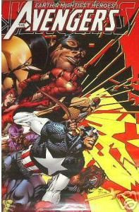 VINTAGE AVENGERS 500 POSTER CAPTAIN AMERICA 2004 (24x36 inches)