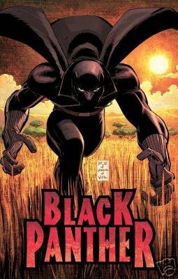 2005 T�CHALLA BLACK PANTHER POSTER JOHN ROMITA 24x36