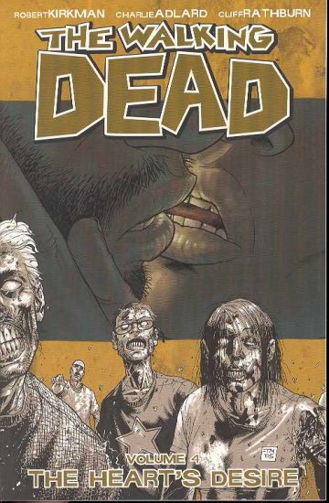 WALKING DEAD TP GN VOL 4 HEARTS DESIRE Graphic Novel (free shipping)