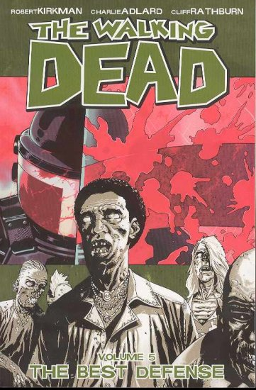 WALKING DEAD TP GN VOL 5 BEST DEFENSE Graphic Novel (free shipping)