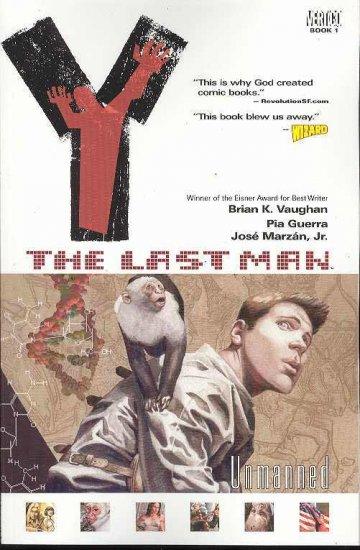 Y THE LAST MAN TP VOLUME 1 UNMANNED VERTIGO