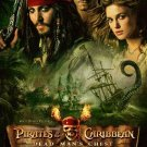 PIRATES OF THE CARRIBEAN 2 MOVIE POSTER JOHNNY DEPP