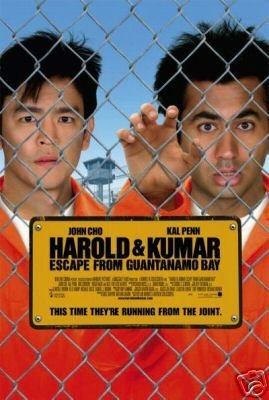 HAROLD & KUMAR 2 MOVIE POSTER 27 x 40 BRAND NEW SHAPE