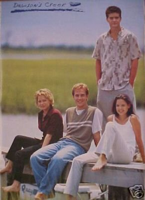 Dawson's Creek Poster w/ JOEY KATIE HOLMES vintage poster from 1998