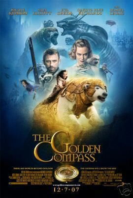 THE GOLDEN COMPASS MOVIE POSTER VERSION B 27 x 40