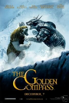 THE GOLDEN COMPASS MOVIE POSTER VERSION A 27 x 40 inches