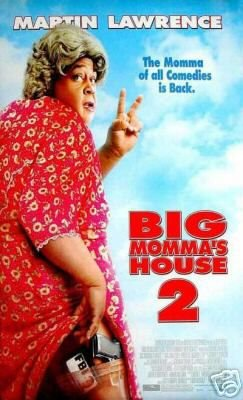 2005 BIG MOMMA�S HOUSE II 2 MOVIE POSTER 27x40