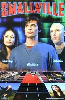 SMALLVILLE COLLAGE POSTER KRISTIN KREUK TOM WELLING