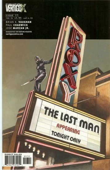 Y: The Last Man # 17  -  Comedy a& Tragedy: Act Two of Two