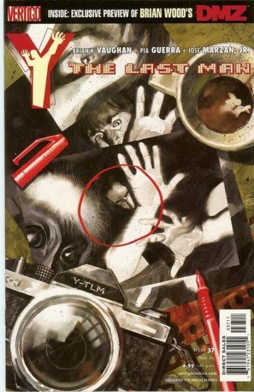 Y: The Last Man # 37  -  Paper Dolls
