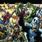 ULTIMATES MARVEL UNIVERSE POSTER BRYAN HITCH 24x36