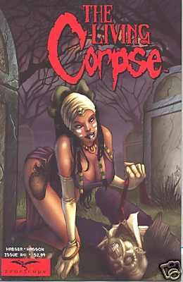 LIVING CORPSE #4 (MR) m/nm ZENESCOPE