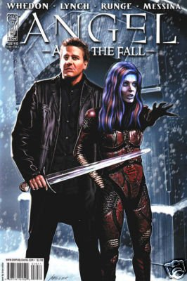 ANGEL AFTER THE FALL #10 m/nm CVR A JOSS WHEDON IDW