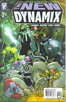 NEW DYNAMIX #4 (OF 5) m/nm (2008)