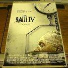 SAW IV 4 MOVIE POSTER 27x40