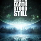 THE DAY THE EARTH STOOD STILL (2008)  POSTER KEANU REEVES FREE SHIPPING
