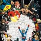 JUSTICE SOCIETY OF AMERICA #1 POSTER art by ALEX ROSS