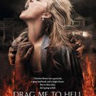 DRAG ME TO HELL ADVANCE MOVIE POSTER FREE SHIPPING