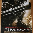 TERMINATOR SALVATION ADVANCE MOVIE POSTER FREE SHIPPING