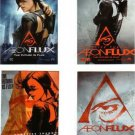 AEON FLUX PROMO 4 CARD SET CHARLIZE THERON FACTORY SEALED