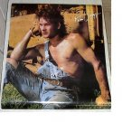 1985 VINTAGE PATRICK SWAYZE POSTER  22 x 32 inches