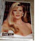 Vintage 1989 VICKY VALE BATMAN MOVIE POSTER KIM BASSINGER 22x34