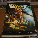 MY BLOODY VALENTINE 3-D MOVIE POSTER 27 x 40 inches Brand New Never Displayed