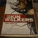 SKIN WALKERS SKINWALKERS MOVIE POSTER 27x40 (2006)