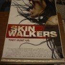 SKIN WALKERS SKINWALKERS MOVIE POSTER 27x40 (2006)