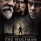 THE WOLFMAN MOVIE POSTER FREE SHIPPING (2010)