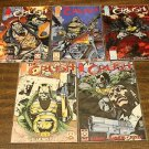 THE CRUSH 5 COMIC LOT RUN SET #s 1 – 5 from IMAGE nm