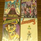 DC LEGIONNAIRES 3 COMIC LOT RUN SET #s 1 – 4 (1986) mnm