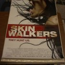 SKIN WALKERS MOVIE POSTER 27x40 (2006) Free shipping