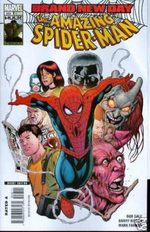 AMAZING SPIDER-MAN #558 m/nm (2008)