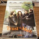 TRUST THE MAN MOVIE POSTER  27 x 40 inches  EVA MENDES DAVID DUCHOVNY FREE SHIPPING