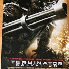 TERMINATOR SALVATION ADVANCE MOVIE POSTER FREE SHIP