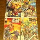 STAR WARS JEDI COUNCIL 4 COMIC LOT RUN SET #s 1 - 4 mnm