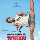 YOU DON'T MESS WITH ZOHAN MOVIE POSTER FREE SHIPPING