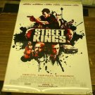 STREET KINGS MOVIE POSTER 27 x 40