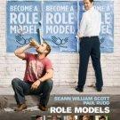 Role Models Advance Promotional Movie poster Sean William Scott Paul Rudd