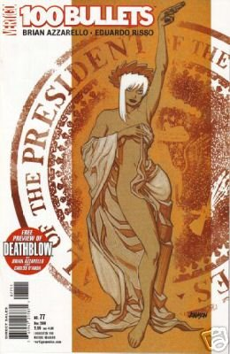 100 Bullets #77 near mint comic DC VERTIGO