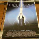 Highlander The Source Movie Poster 27 x 40 inches s/s